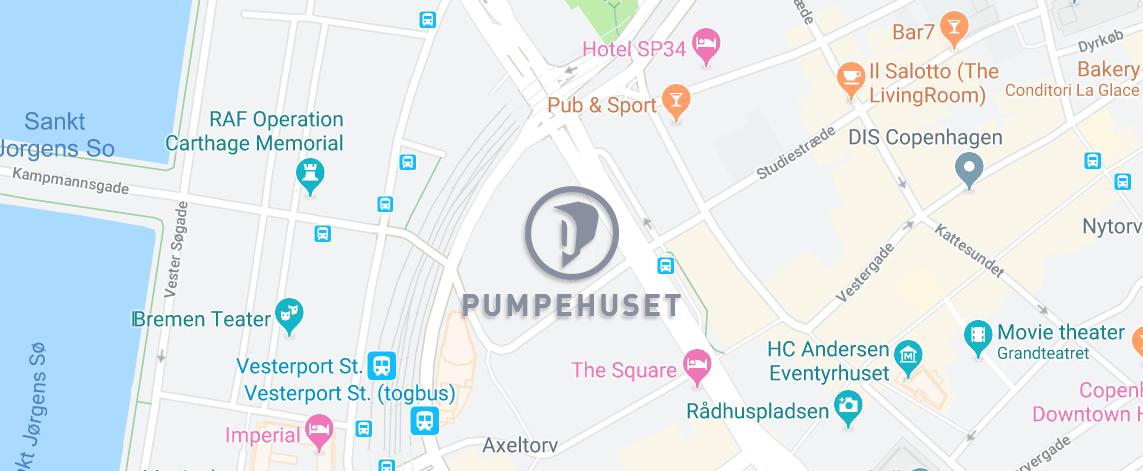 Kort over pumpehuset